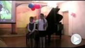 Отчётный концерт отделения дополнительного инструмента. Май 2014 г.