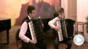 Концерт класса аккордеона и баяна 10.02.2014