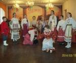 Отчётный концерт детского фольклорного ансамбля Тёплые ключи